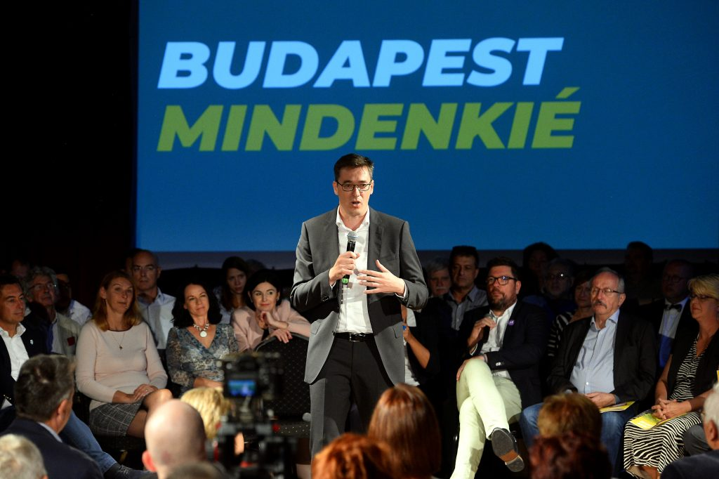 Karácsony Pledges to Make Budapest 'Free and Green' post's picture