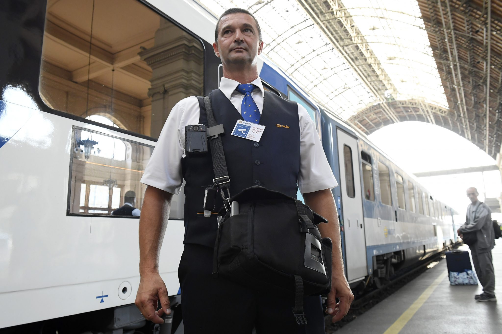 MÁV Installs 103 Body Cameras to Protect Ticket Inspectors post's picture