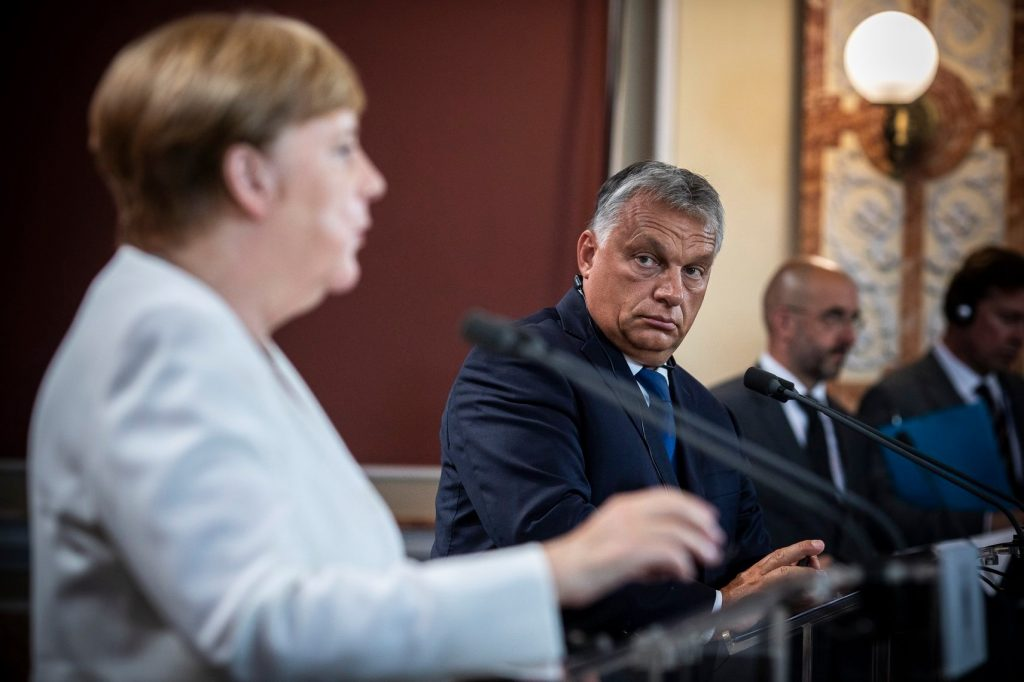 Merkel: Rule of Law Priority of German EU Presidency post's picture