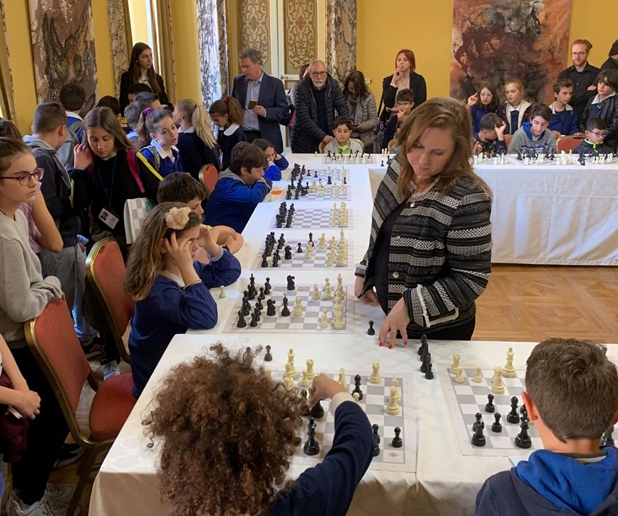Chess Supremo Judit Polgár Preparing Kids for Guinness World Record post's picture