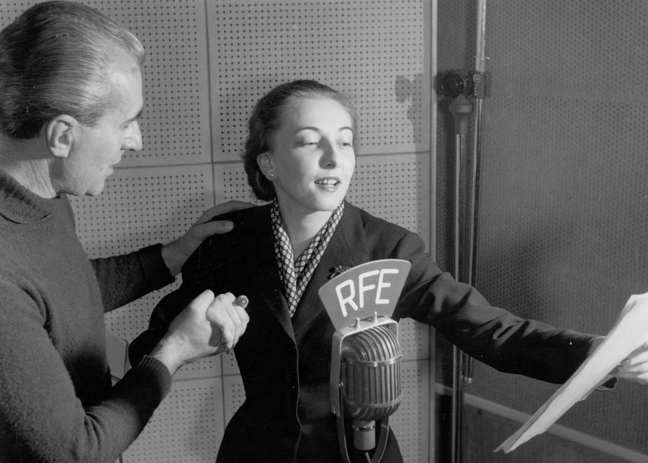 Time Machine: Radio Free Europe's 1956 Broadcast Available from Saturday post's picture
