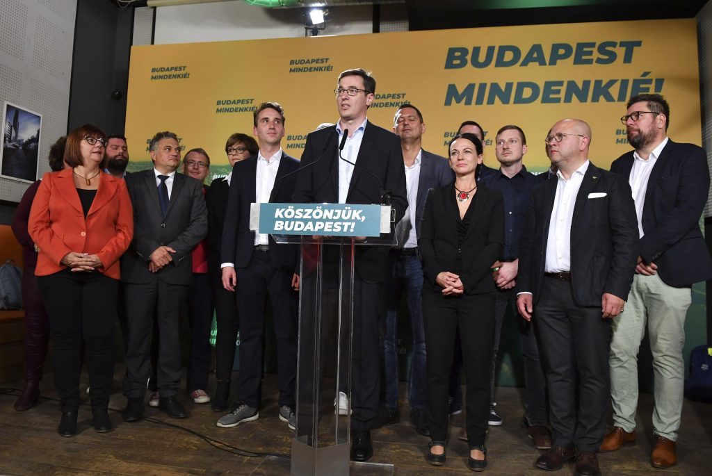 The Left-liberal Opposition Takes Over Budapest post's picture