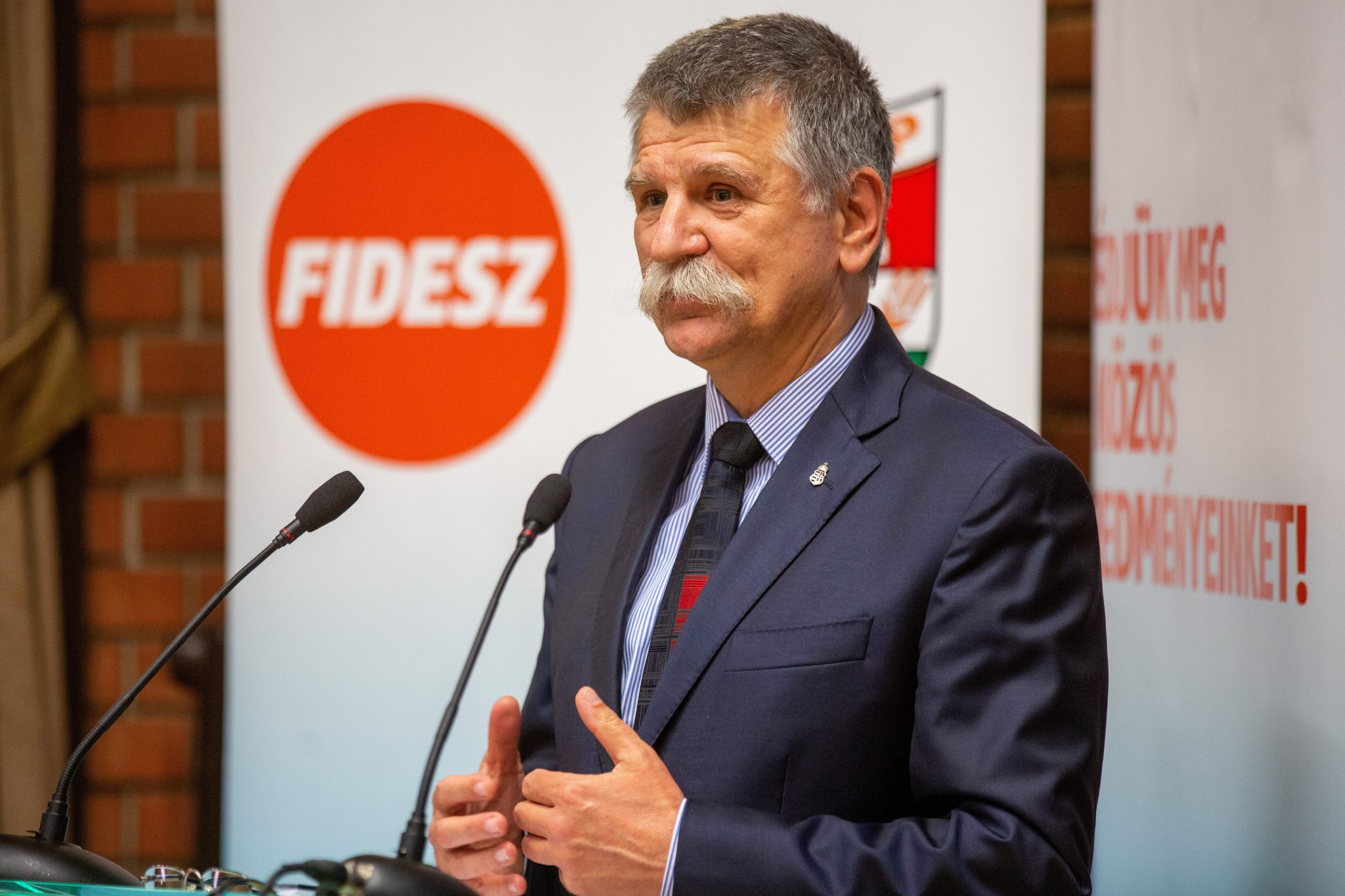 "House Speaker Kövér: ""This opposition is not part of the Hungarian nation but a servant to that world elite"" post's picture"