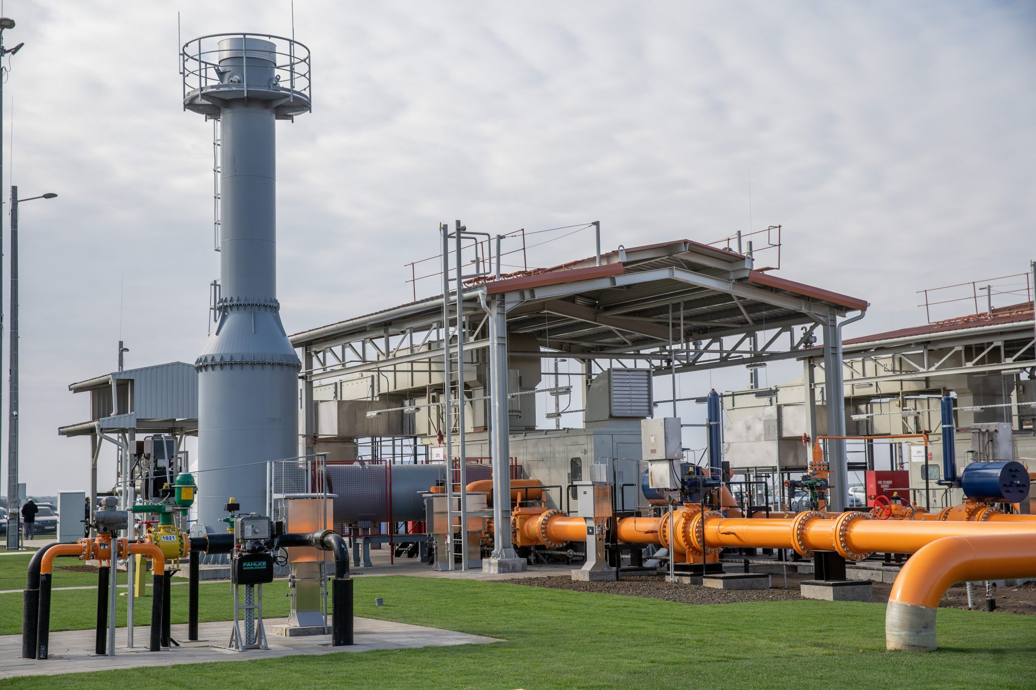 Natural Gas Compressor Station Inaugurated near Romanian Border post's picture