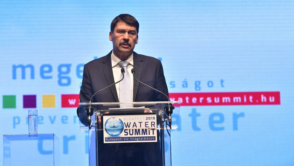President Áder on Climate Change: Investing in Prevention Pays Off post's picture