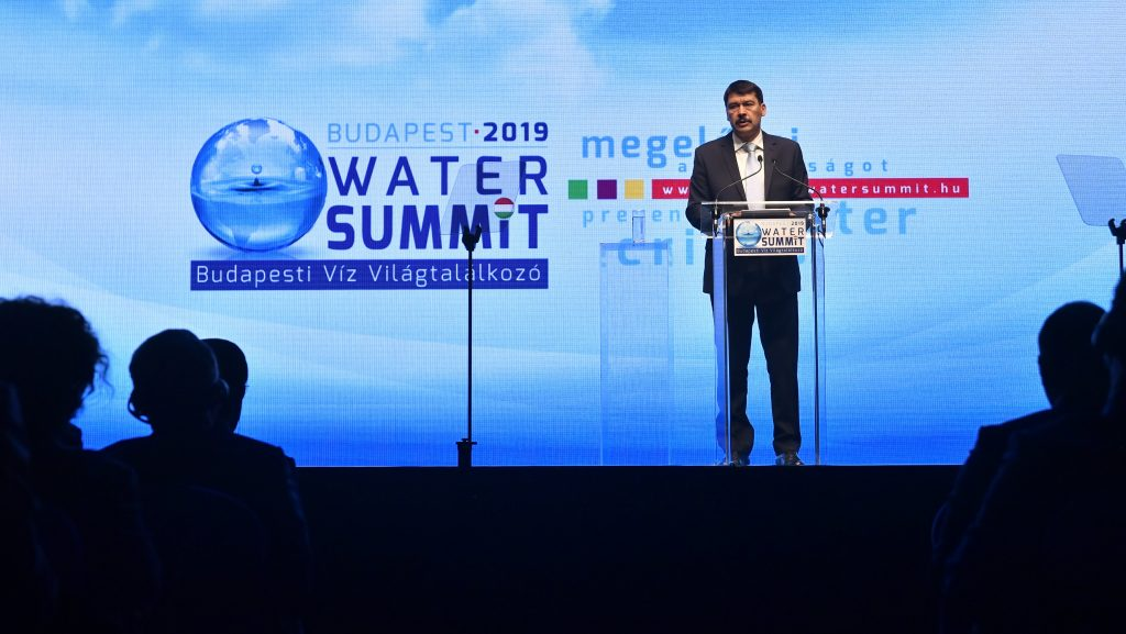 Budapest Water Summit Winds up with Appeal to Meet Challenges post's picture