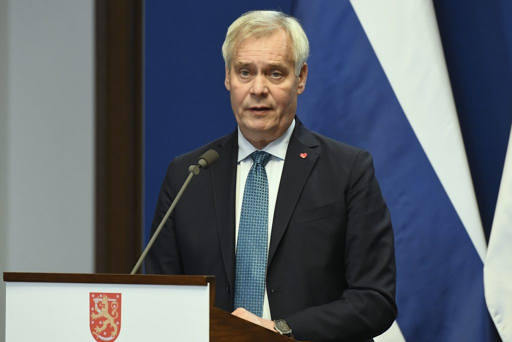 Finnish PM Rinne in Budapest: Funding Should be Tied to Rule of Law post's picture