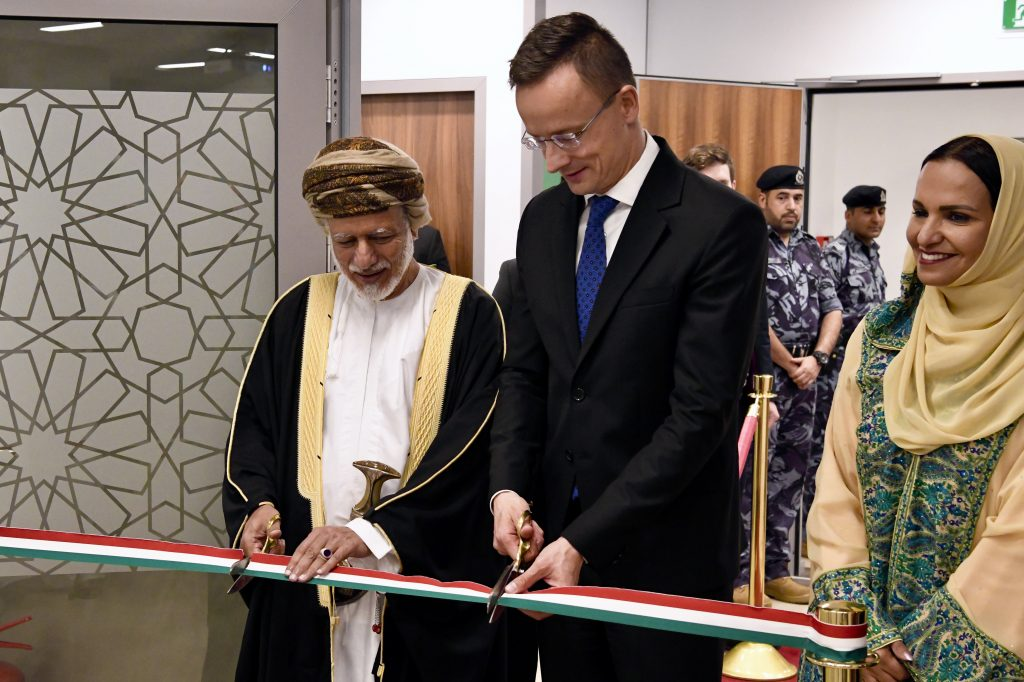 Szijjártó Opens Hungarian Mission in Oman post's picture