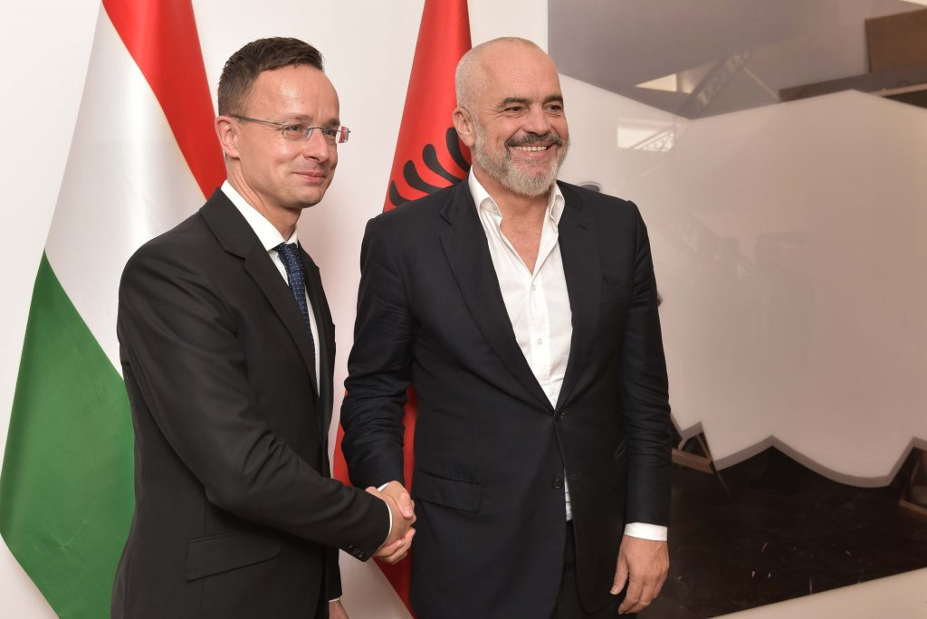 Foreign Minister Meets Albania PM, Urges EU Enlargement post's picture