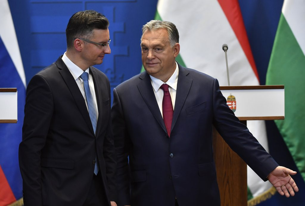 Orbán to Slovenian PM: 'We Are Well Aware of What Mass Illegal Migration Mean' post's picture