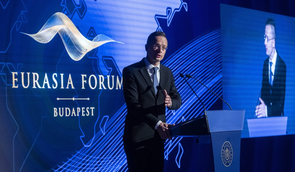 Szijjártó at Eurasian Forum: Hungary Vetoes NATO's Ukraine Declaration Due to Minority Rights post's picture