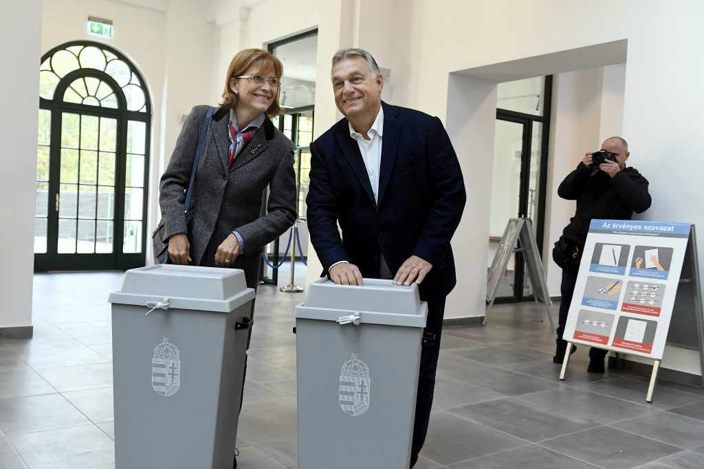 Local Elections – Orbán Casts Ballot post's picture