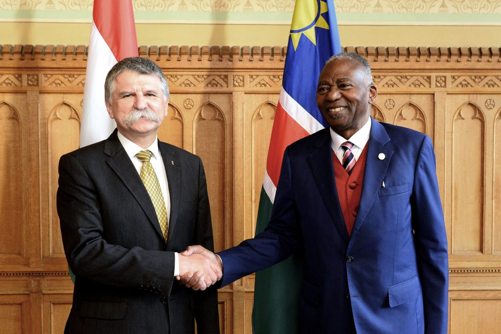 Kövér: Hungary Aims at Closer Cooperation with Namibia post's picture