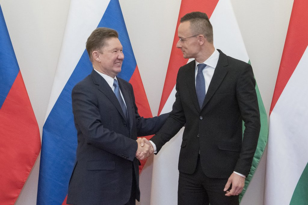 Szijjártó Meets Gazprom, Rosatom Leaders in Budapest post's picture