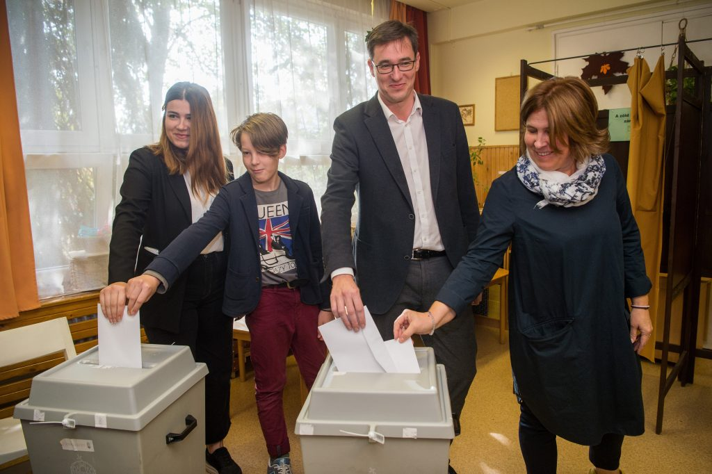 Local Elections – Karácsony Casts Vote in Budapest District 14 post's picture