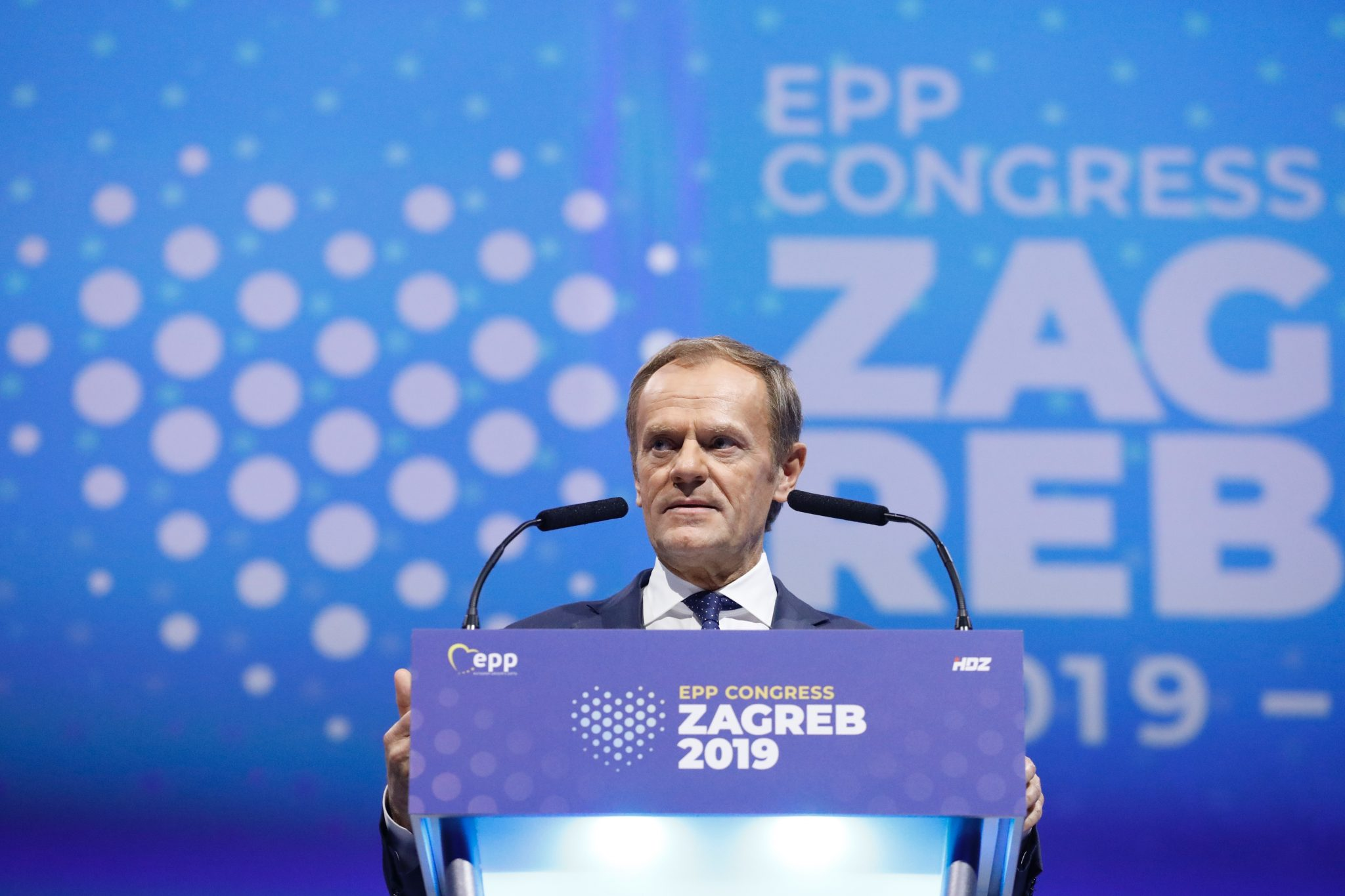 New EPP Leader Tusk Declares Fight against Populists