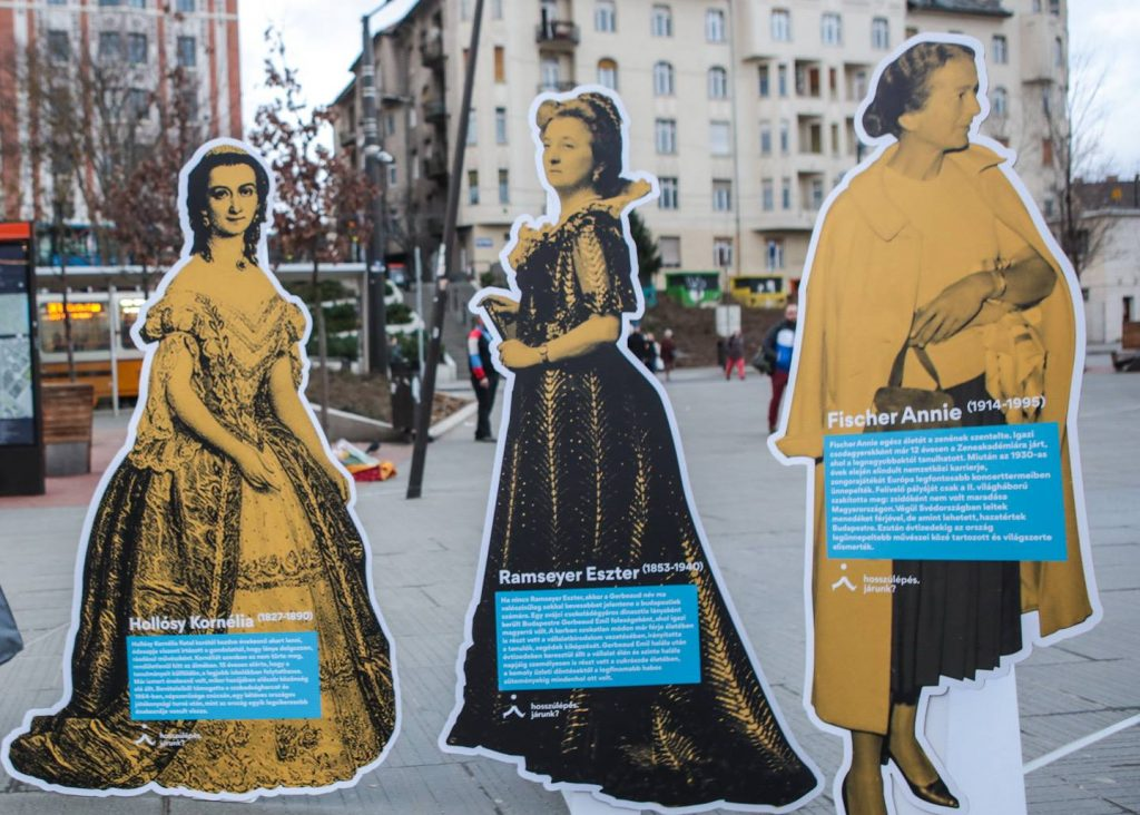 Movement for More Women Statues in Budapest Starts with Poll post's picture