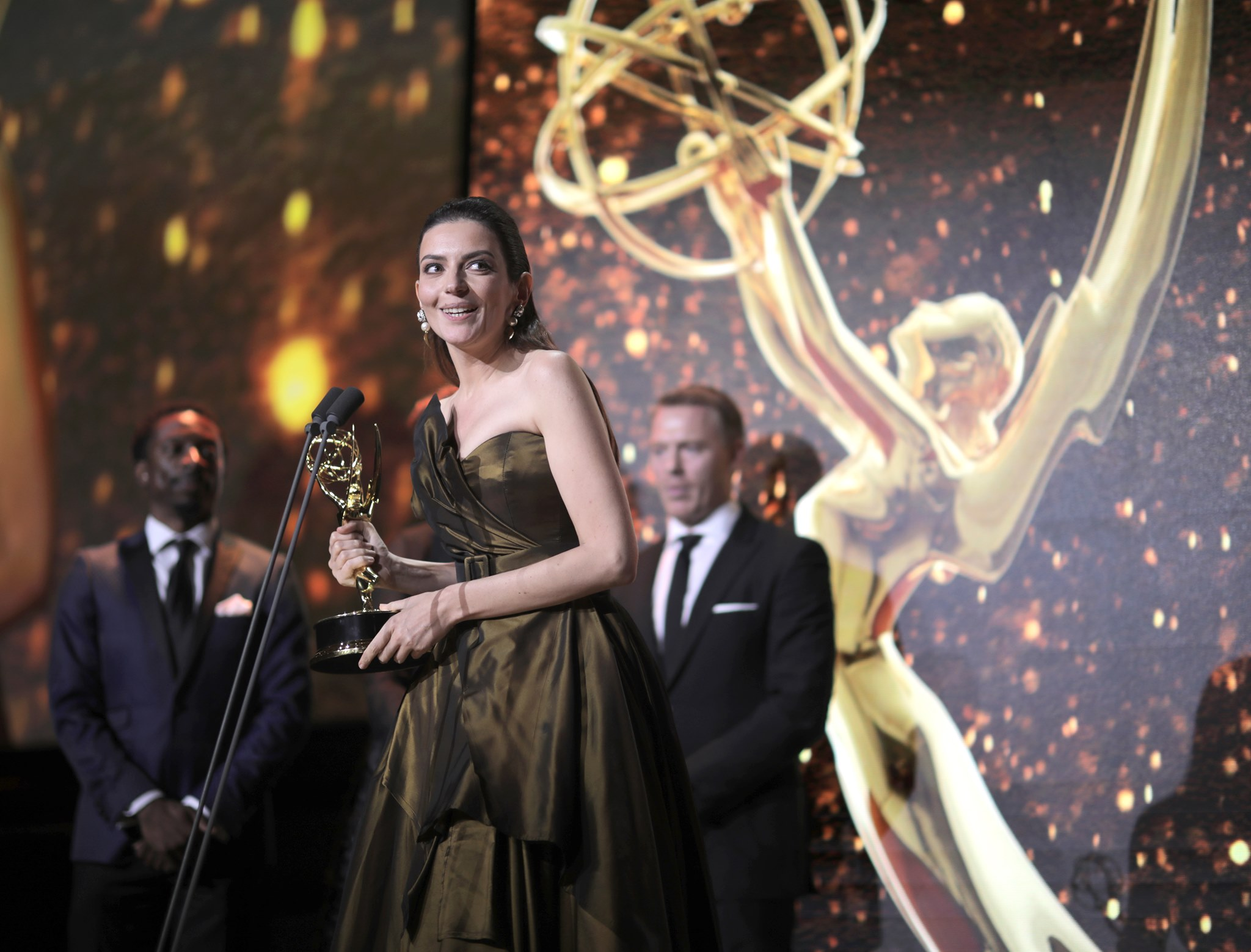 Marina Gera Bags First Ever Hungarian Emmy Award for Role in 'Eternal Winter' post's picture
