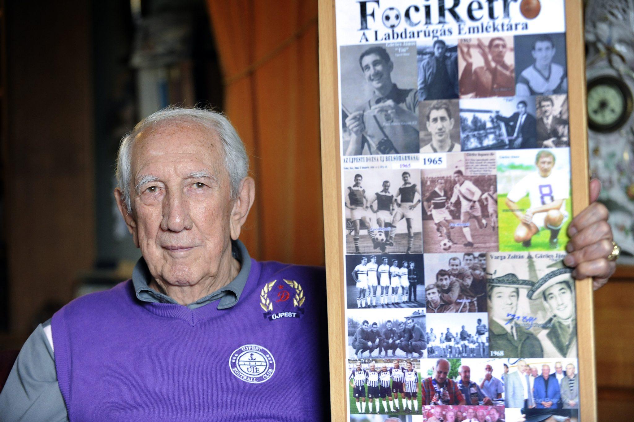 Legendary Újpest Footballer János Göröcs Has Died post's picture