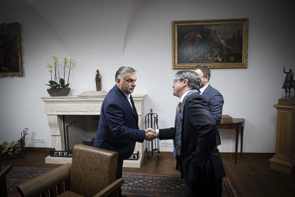 Orbán Meets Conservative US Political Scientist Deneen post's picture