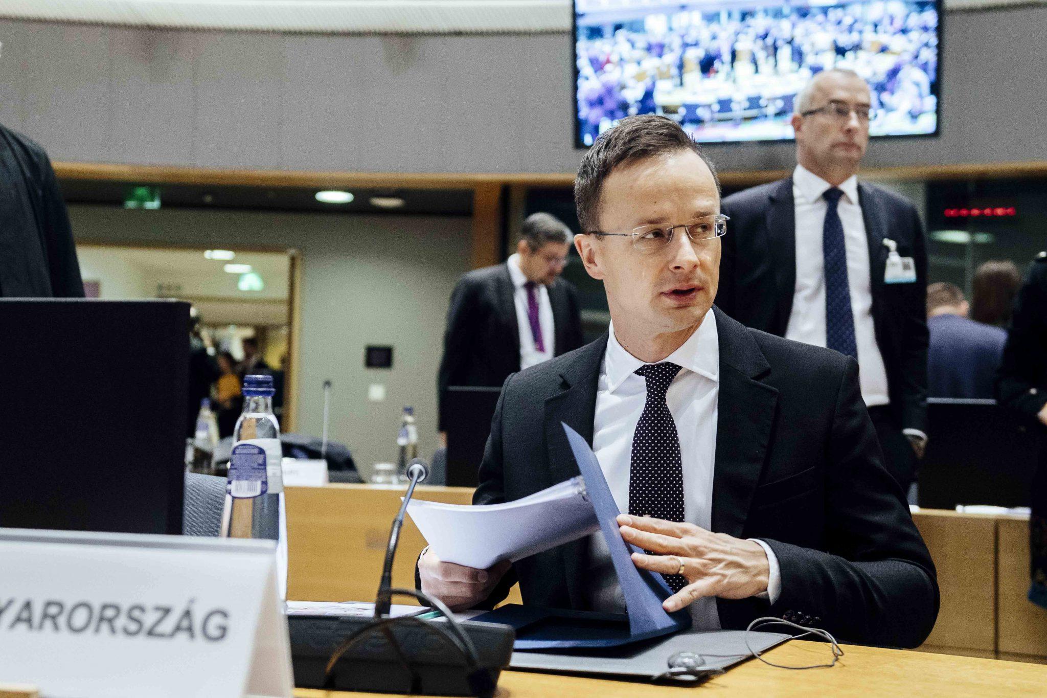 FM Szijjártó Asks CoE Sec-Gen to Help Ukraine Hungarians