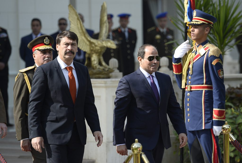 President Áder: Egypt Indispensible in Fighting Terrorism, Preventing Migration post's picture