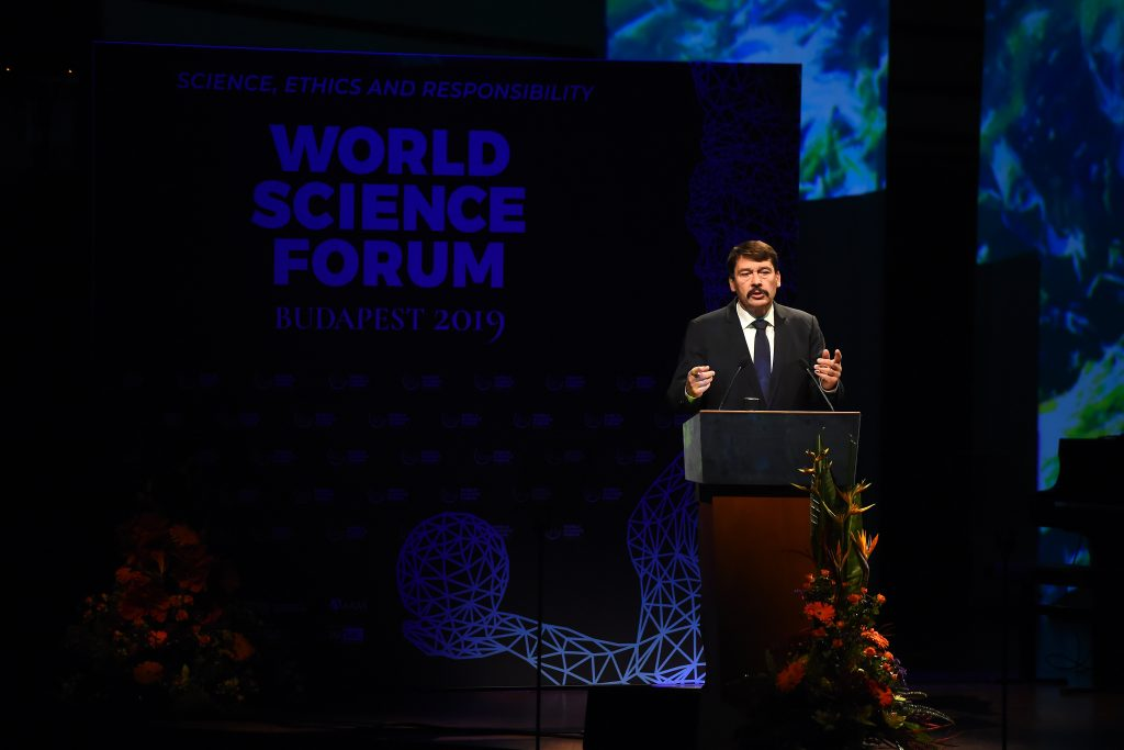 World Science Forum Opens in Budapest post's picture