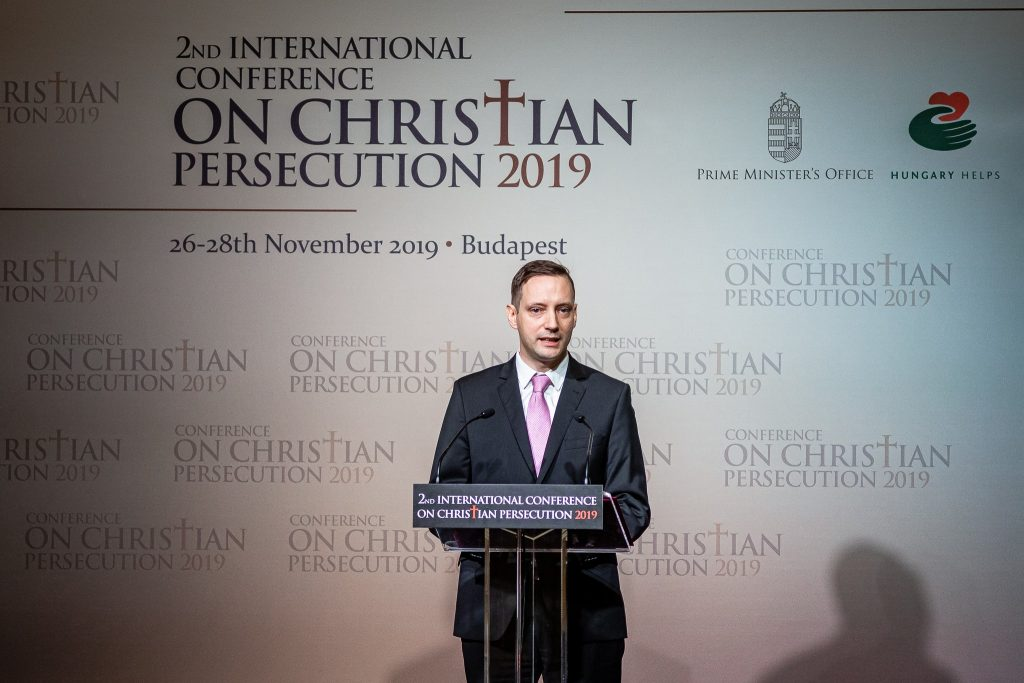 Violence against Christians Spreading, says State Secretary at Hungarian Exhibition Opening in Washington post's picture