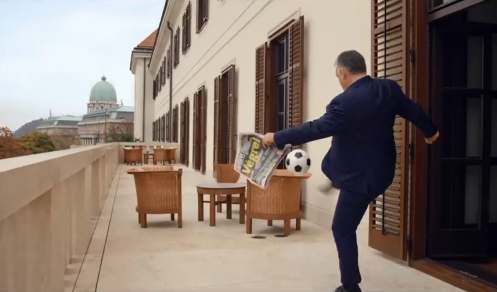 Viktor Orbán Welcomes Puskás Stadium Inauguration with Football Skills – Video! post's picture