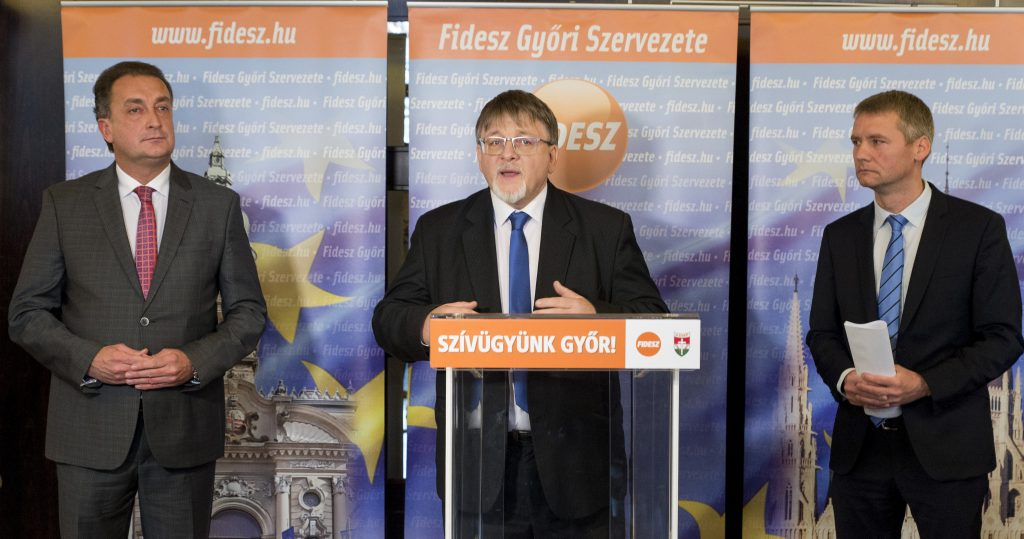 Ruling Fidesz-KDNP Name Candidate for Győr Mayor post's picture