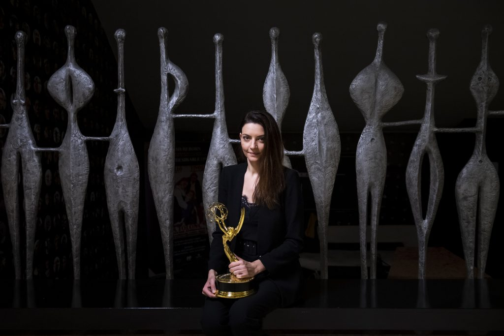 """Emmy Winner Marina Gera: """"I am proud to have won the award for Hungary"""" post's picture"""