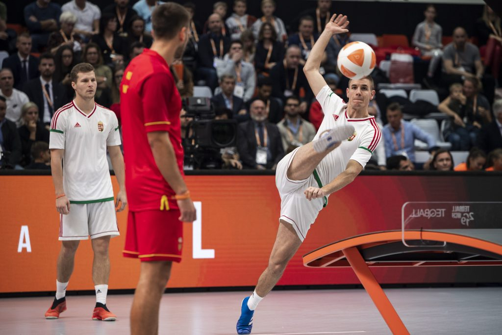 Hungarian-Invented Teqball Targets the Olympics post's picture