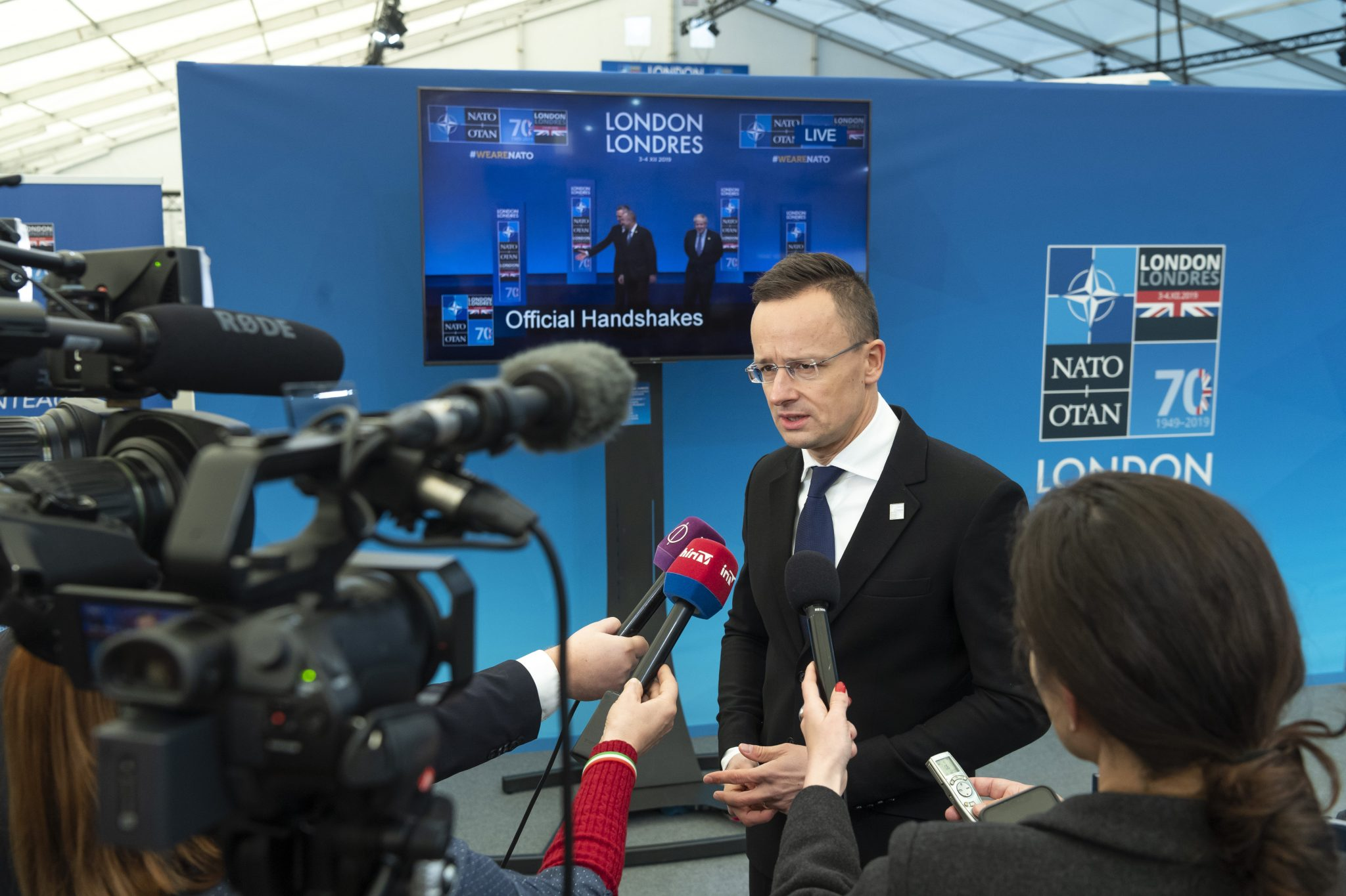 Szijjártó to NATO FMs: Ukraine's Attack on Hungarian Community Unacceptable