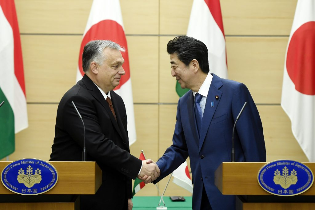 Orbán: Hungary, Japan Success Mutual Interest post's picture