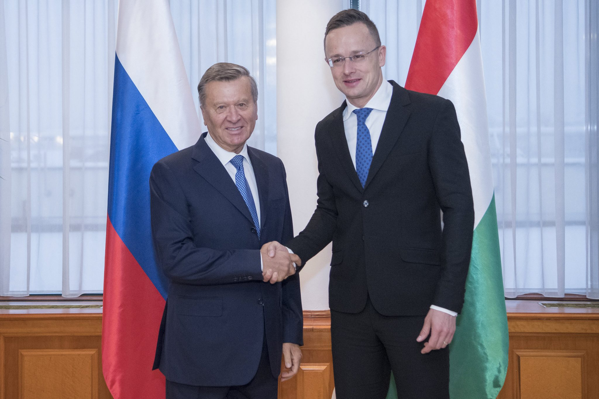 Foreign Minister: Hungary Interested in Long-term Cooperation with Gazprom post's picture
