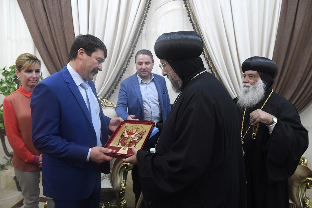 President Áder in Egypt: Coptic Christian Community Rebuilt under President el-Sisi post's picture