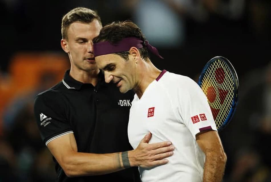 Hungary's Márton Fucsovics' Stellar Climb into Top 16 at Australian Open, Loses to Legend Roger Federer post's picture