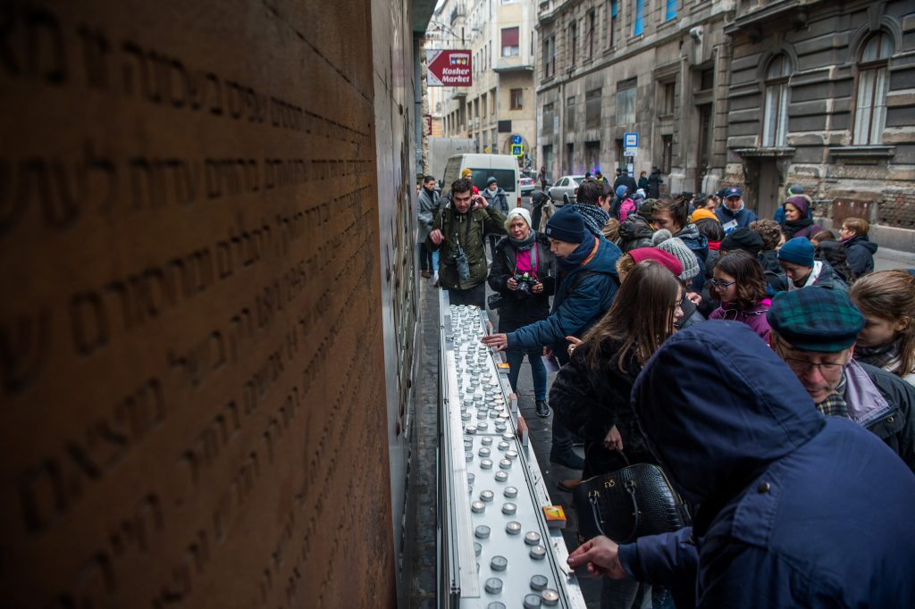 75th Anniversary of Budapest Ghetto Liberation Commemorated by Survivors, Jewish Leaders, Politicians post's picture