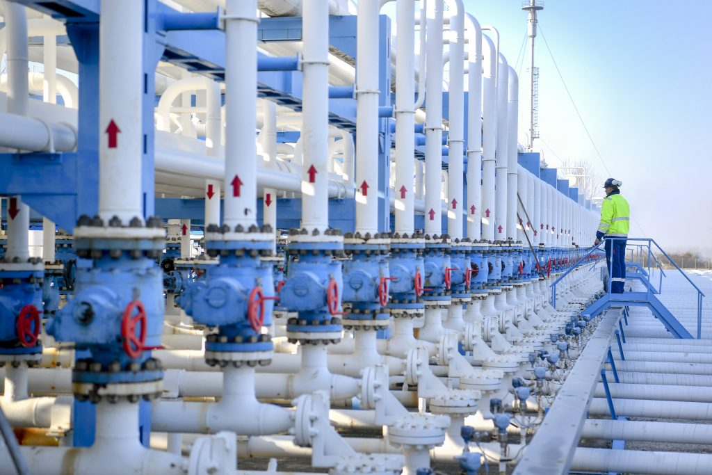 Hungarian Gas Storage Facilities at Full Capacity post's picture