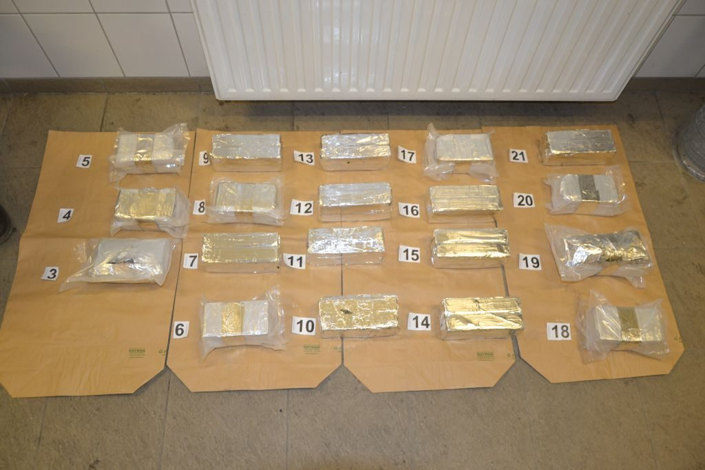 Record Amount of Heroin Seized at Röszke post's picture