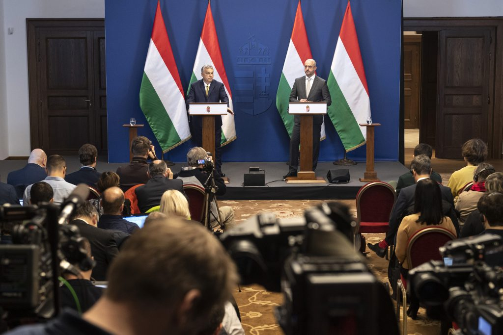 Orbán's Year-opening Press Conference: What the Int'l Press Asked post's picture