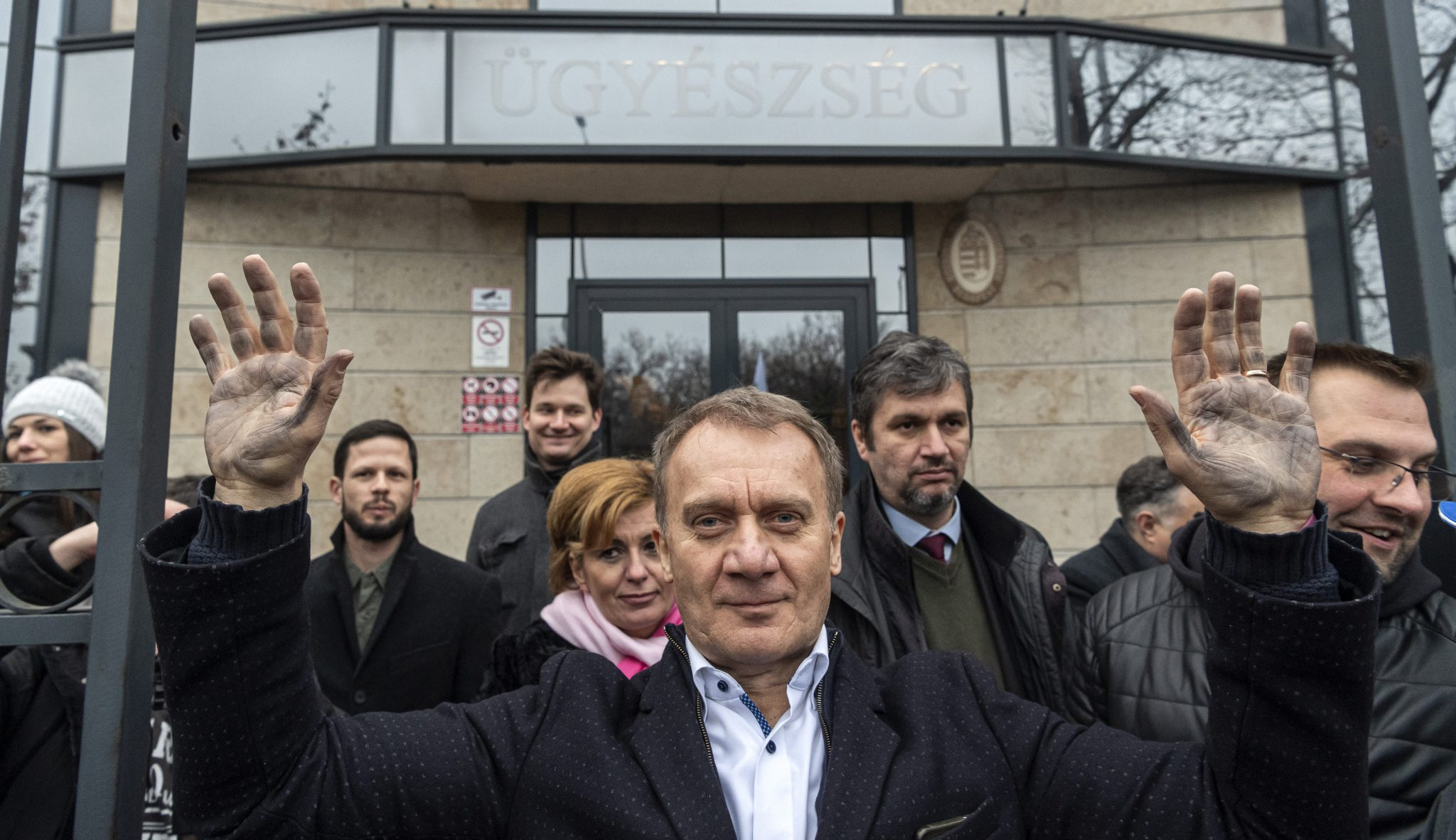 Opposition Protests against Criminal Proceedings against DK's Varju post's picture