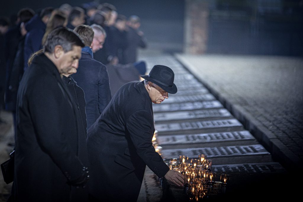 PM Orbán Represents Hungary at 75th Anniversary of Auschwitz-Birkenau Concentration Camp Liberation post's picture