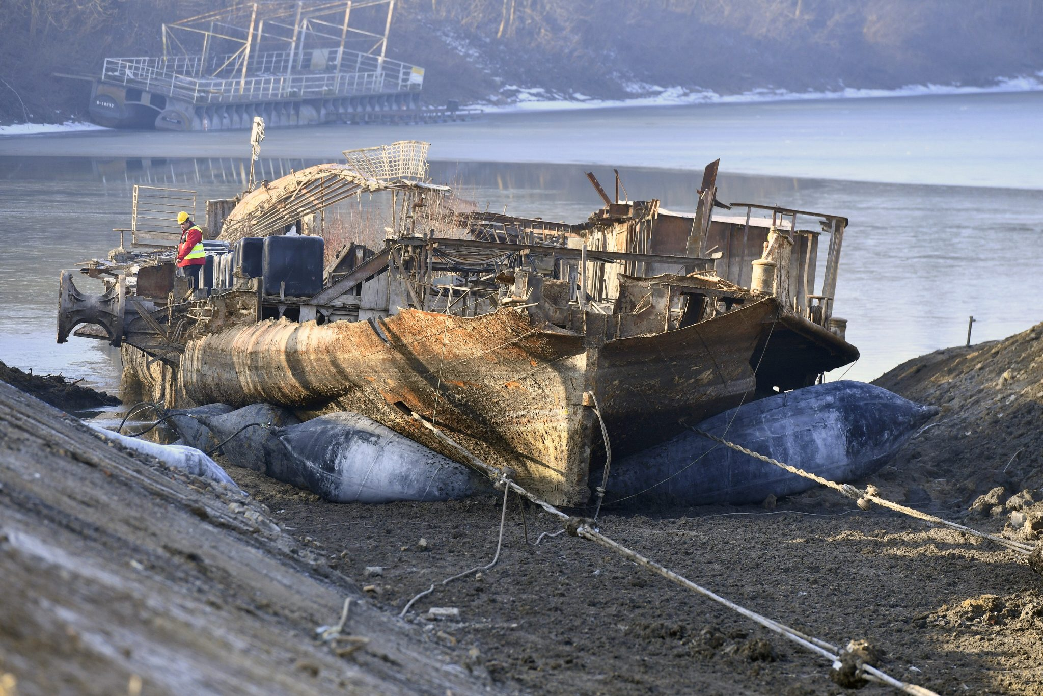 Recovery of Legendary Steamship 'Szőke Tisza' Underway post's picture