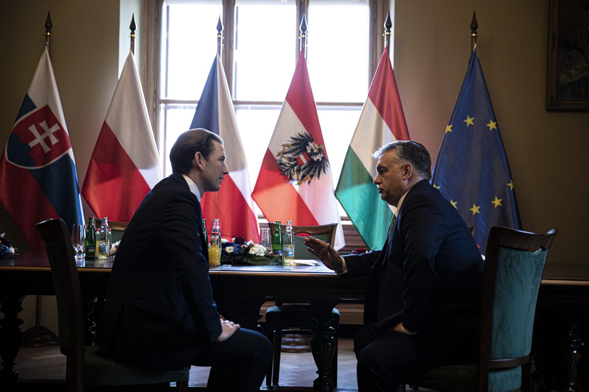 Orbán: Austria 'Natural Partner' of V4 post's picture