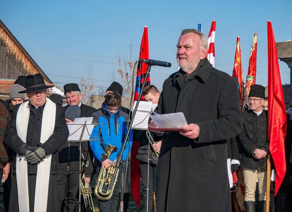 Fidesz deputy celebrates the anniversary of the Madéfalva massacre in Romania
