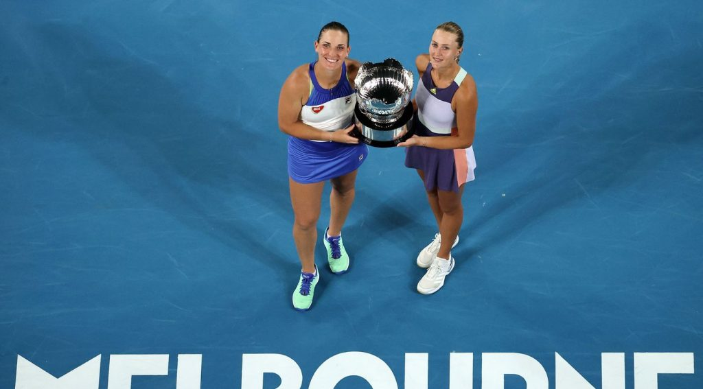 Hungary's Tímea Babos Wins Women's Doubles Final at Australian Open post's picture