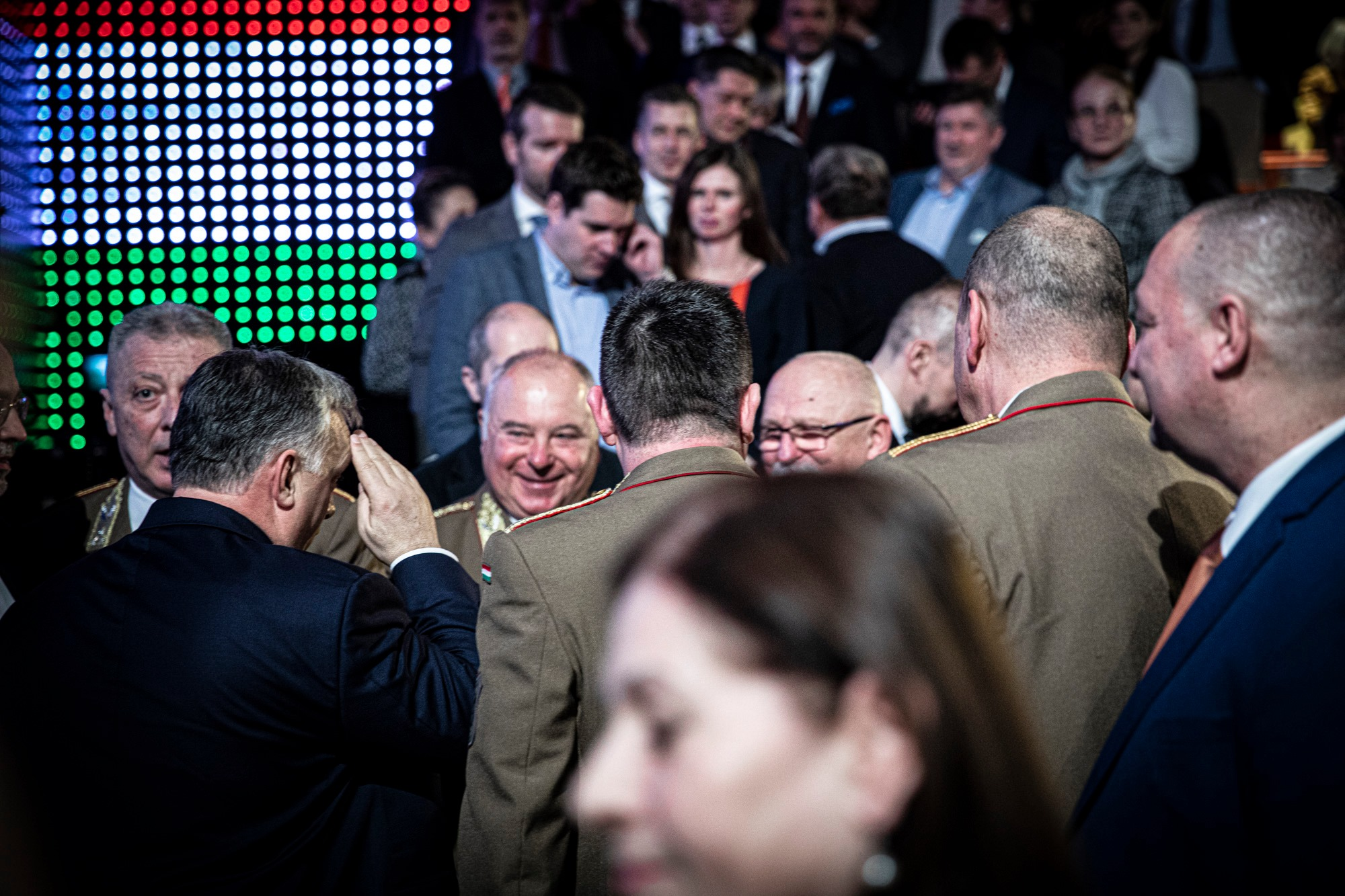 Military Presence at Orbán's State-of-the-Nation Speech Draws Controversy post's picture