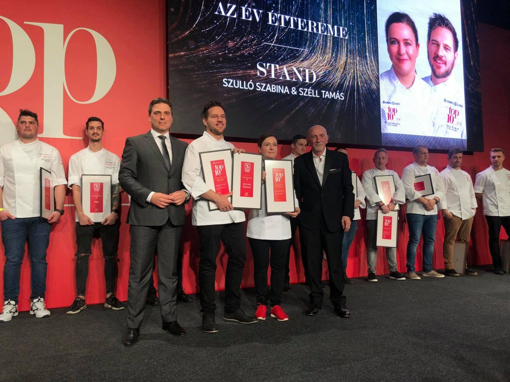 Tamás Széll's Restaurant 'Stand' Named Best of Hungary for Second Time post's picture