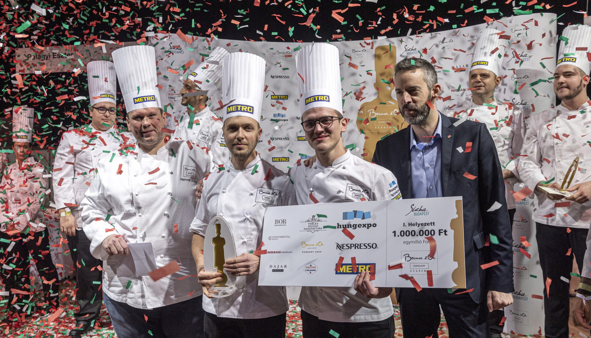 Bábel's István Veres Emerges Winner of Hungarian Bocuse d'Or post's picture